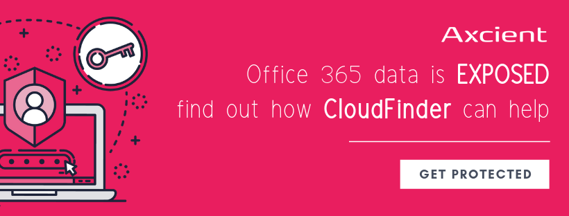 CloudFinder from Axcient Office 365
