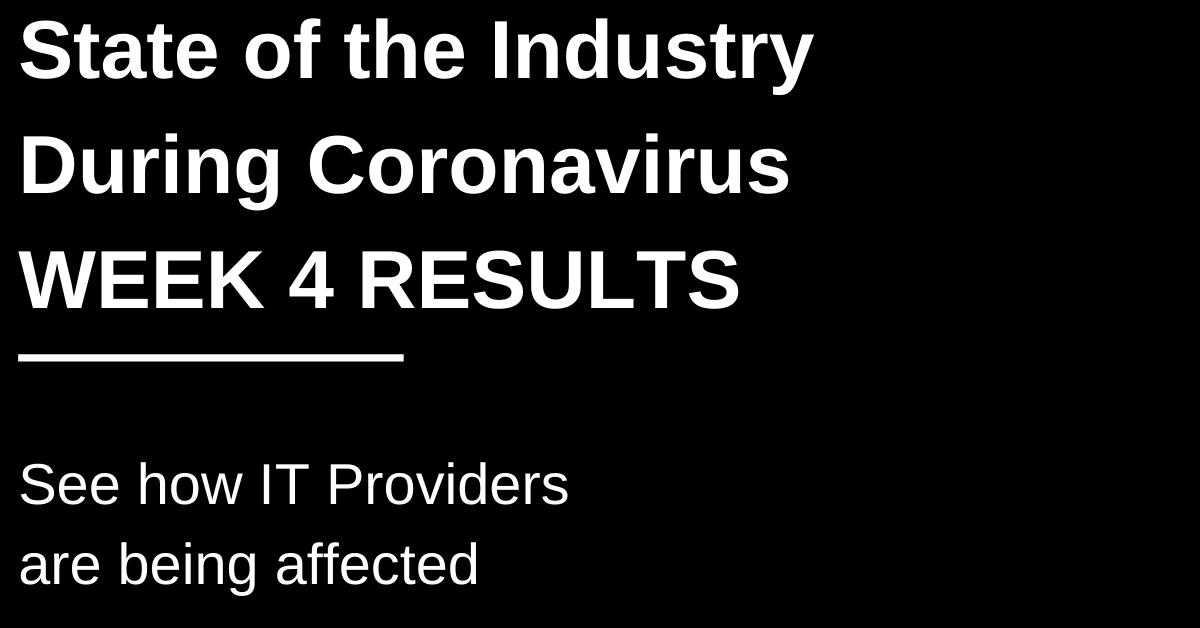 COVID-19 Industry Response Survey: Week Four Results